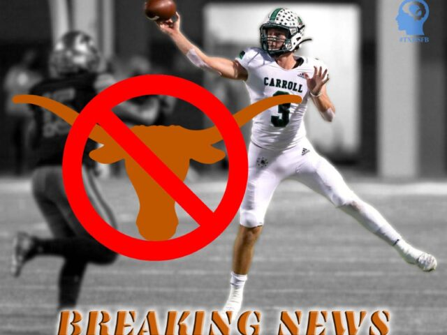 Quinn Ewers Decommits From the University of Texas