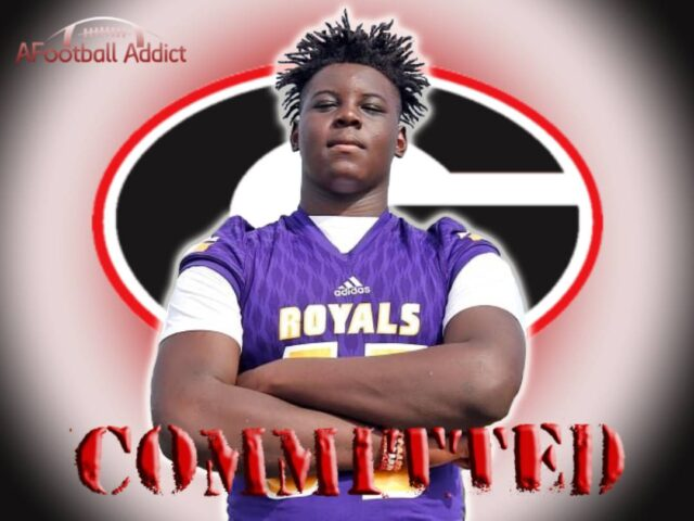 Nations No. 2 Offensive Tackle Amarius Mims Commits to Georgia
