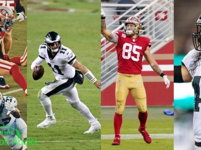 The Philadelphia Eagles Shock the San Francisco 49ers 25-20