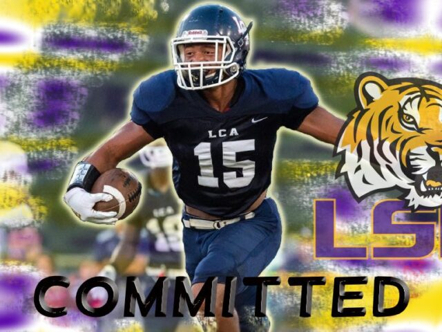 LSU Lands Nation's No. 1 Safety in the Class of 2021 Sage Ryan