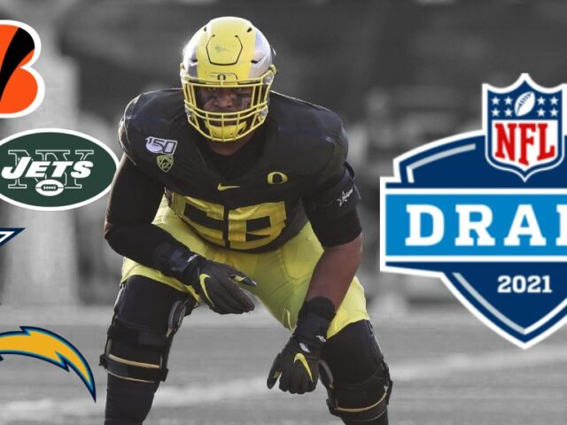 Could Penei Sewell be the NFL's Next Great Offensive Lineman?