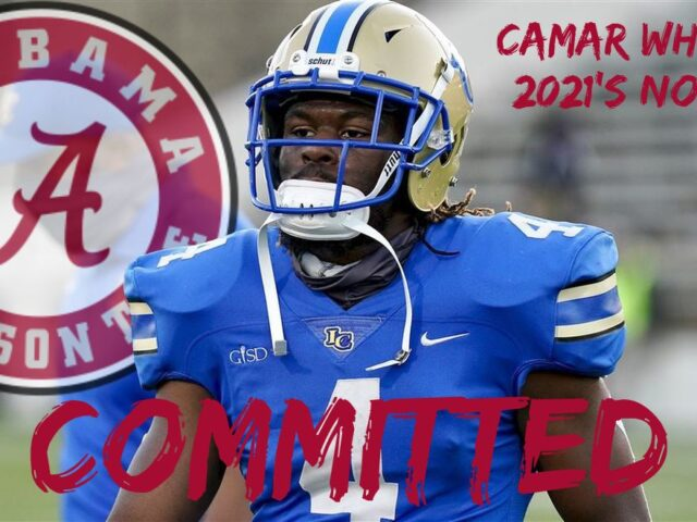 Camar Wheaton Commits to the University of Alabama