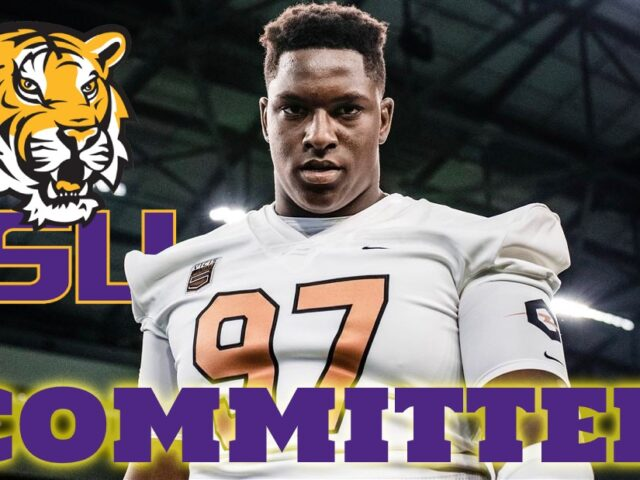 Five-Star DT Maason Smith Commits to the LSU Tigers