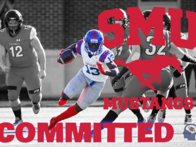 3-Star WR Roderick Daniels Commits to the SMU Mustangs