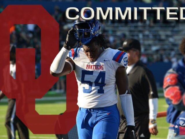 Five-Star OT Savion Byrd Commits to the University of Oklahoma