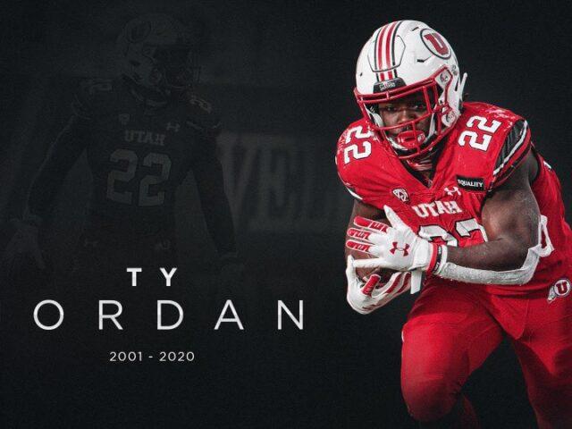 Utah Star Running Back Ty Jordan Passes Away on Christmas Day