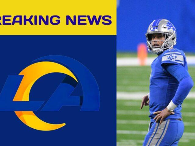 LA Rams Trade Jared Goff & Two 1st Round Picks for Matthew Stafford