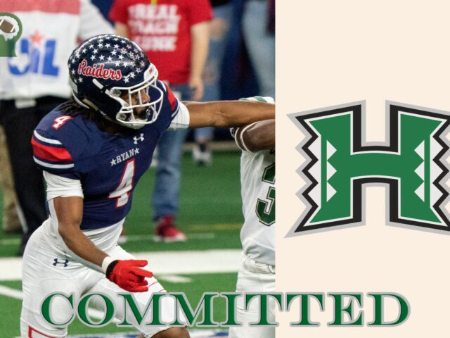 Three-Star Safety Ty Marsh Commits to the University of Hawaii