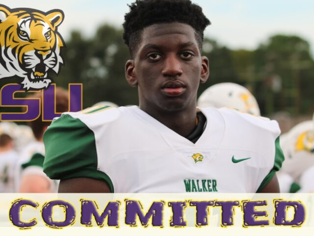 2021 Four-Star WR Brian Thomas Jr Commits to the LSU Tigers