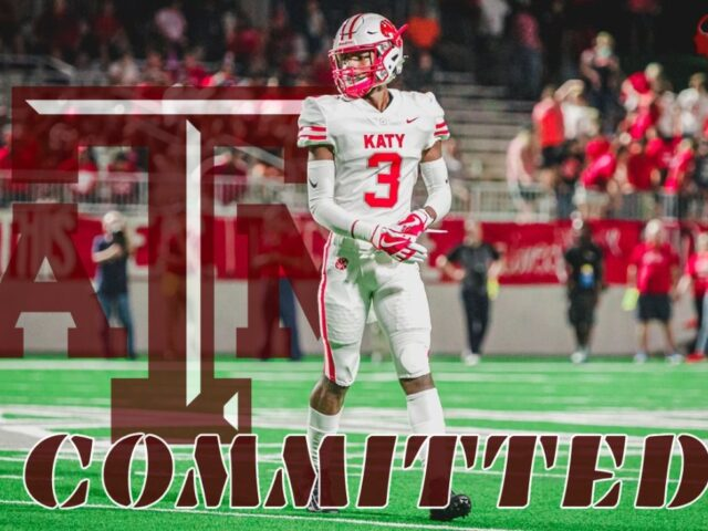 Four-Star Cornerback Bobby Taylor Commits to Texas A&M