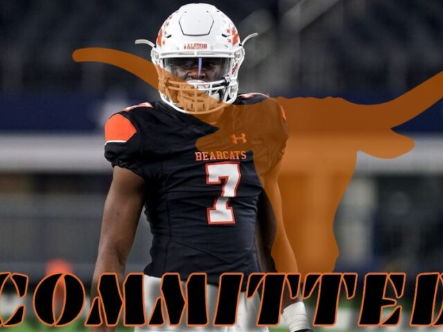 Texas Lands Another '22 Commitment from Four-Star Bryan Allen Jr