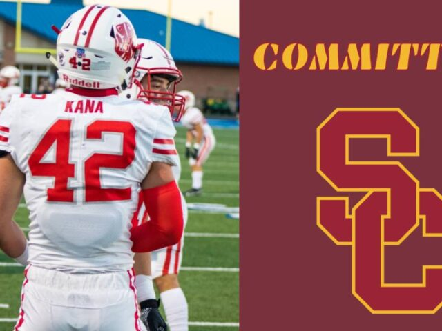 Three-Star LB Ty Kana Commits to the USC Trojans