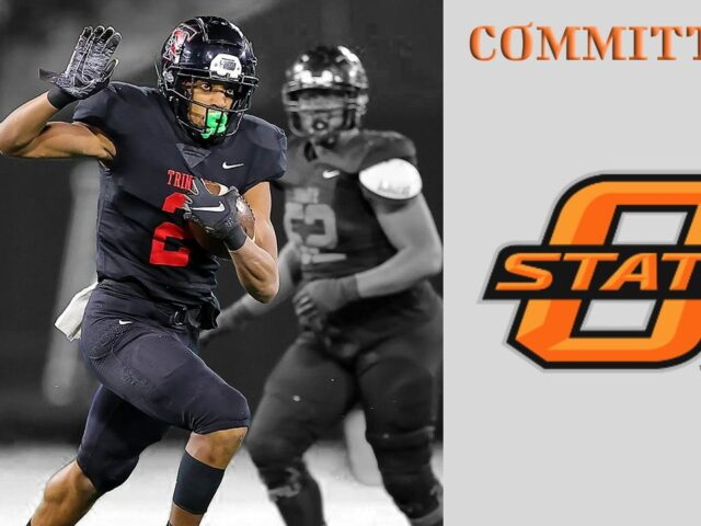 Four-Star Running Back Ollie Gordon Commits to Oklahoma State