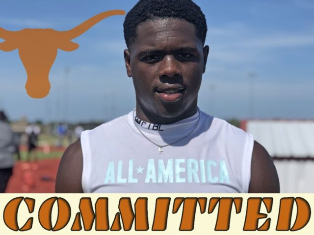 '23 No. 2 Running Back Rueben Owens Commits to the University of Texas