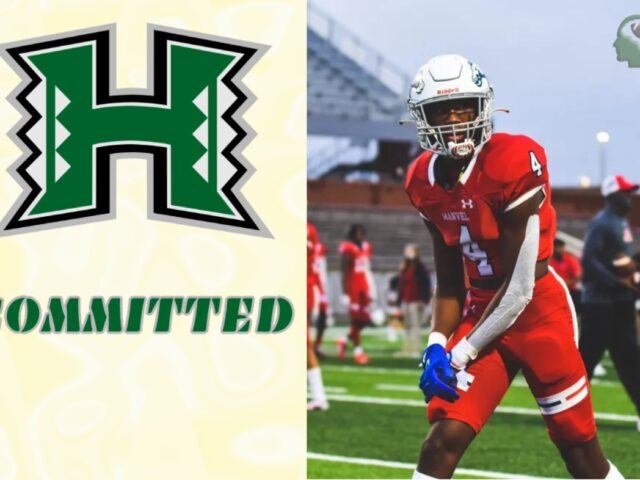 University of Hawaii Lands Three-Star WR Jalen Walthall