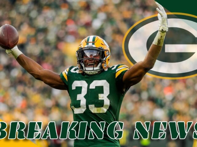 Aaron Jones and the Green Bay Packers Agree on a 4yr/$48M Extension