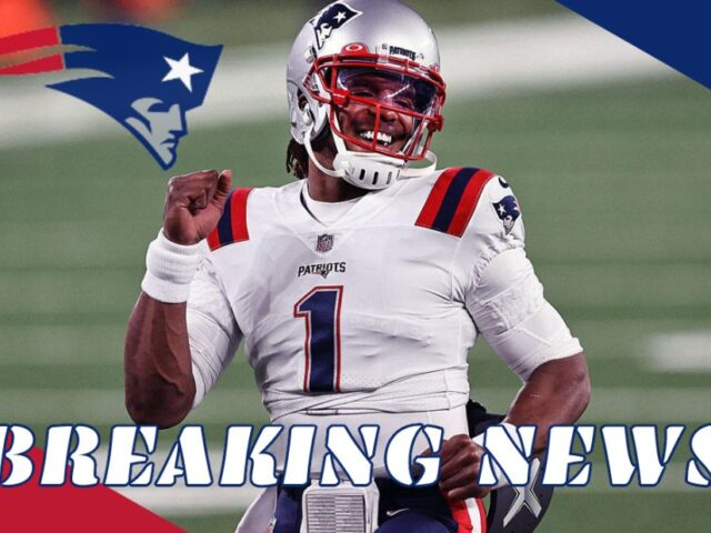 Cam Newton Gets a 1Yr/$13.6M Deal from the New England Patriots