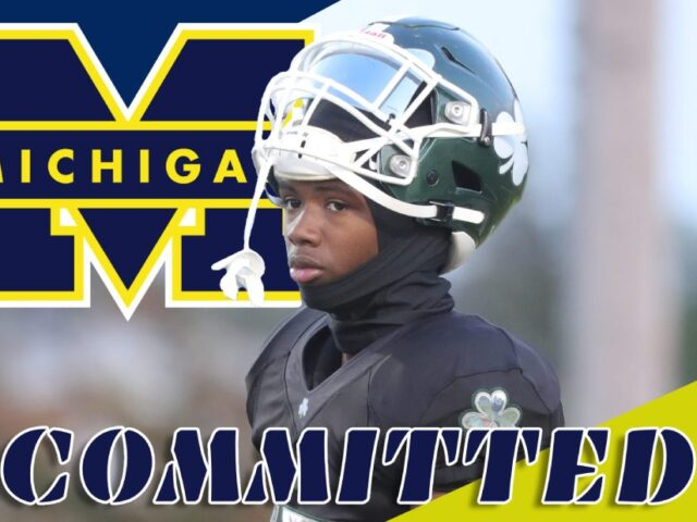 Four-Star WR Tay'shawn Trent Commits to the University of Michigan