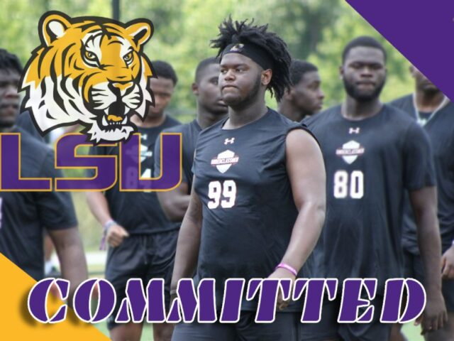 Four-Star Defensive Tackle Tygee Hill Commits to the LSU Tigers