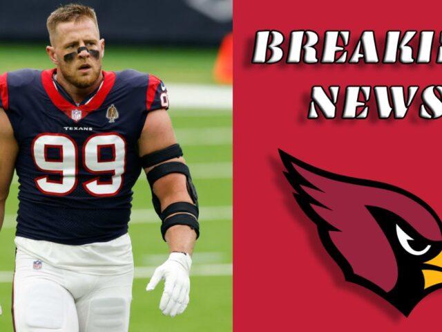 J.J. Watt Signs a 2Yr/$31M Deal with the Arizona Cardinals