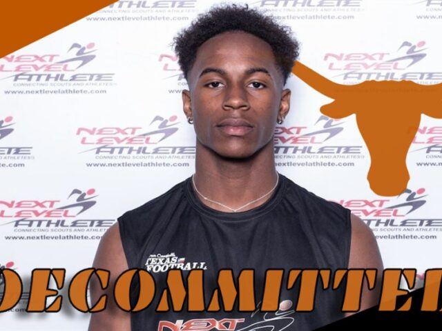 Four-Star WR Evan Stewart Decommits from the University of Texas