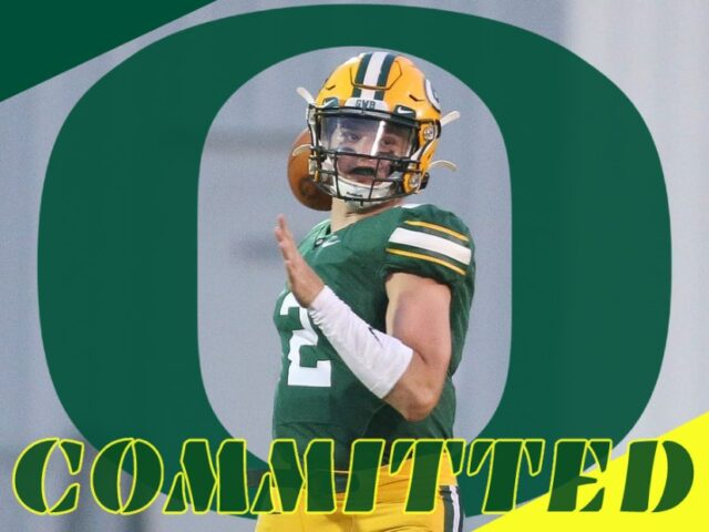 Four-Star Quarterback Tanner Bailey Commits to the Oregon Ducks