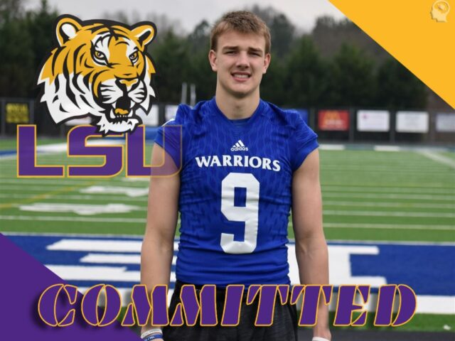2022 No. 1 TE Jake Johnson Commits to the LSU Tigers