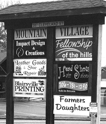 Mountain Village Shopping Center Blairsville GA