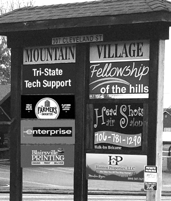 MtnVillage_Sign