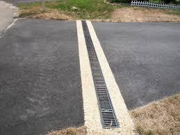 4 - Trench Drain includes asphalt