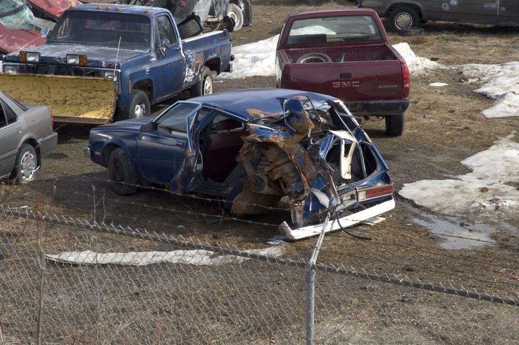 auto wrecking yards near Revere MA