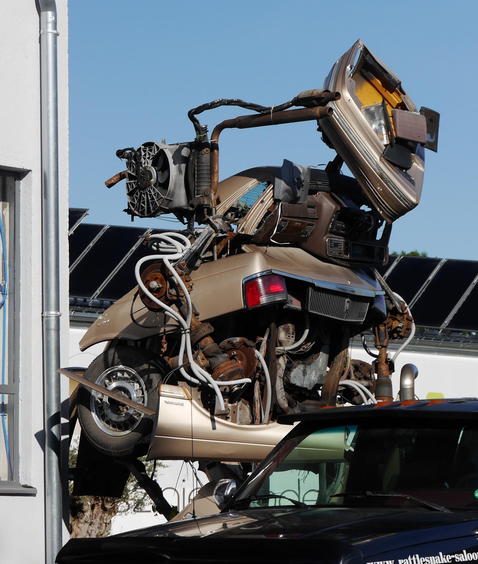 Scrap car pick up near Melrose MA