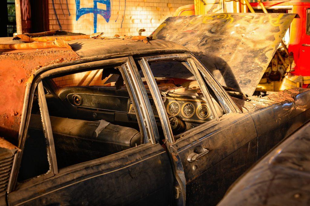 Car scrap Yard near Swampscott MA
