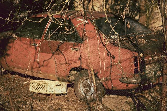 Get rid of old car near Arlington MA