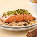 Summer recipe series: salmon with lemon olive quinoa