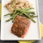 Fennel Mustard Salmon