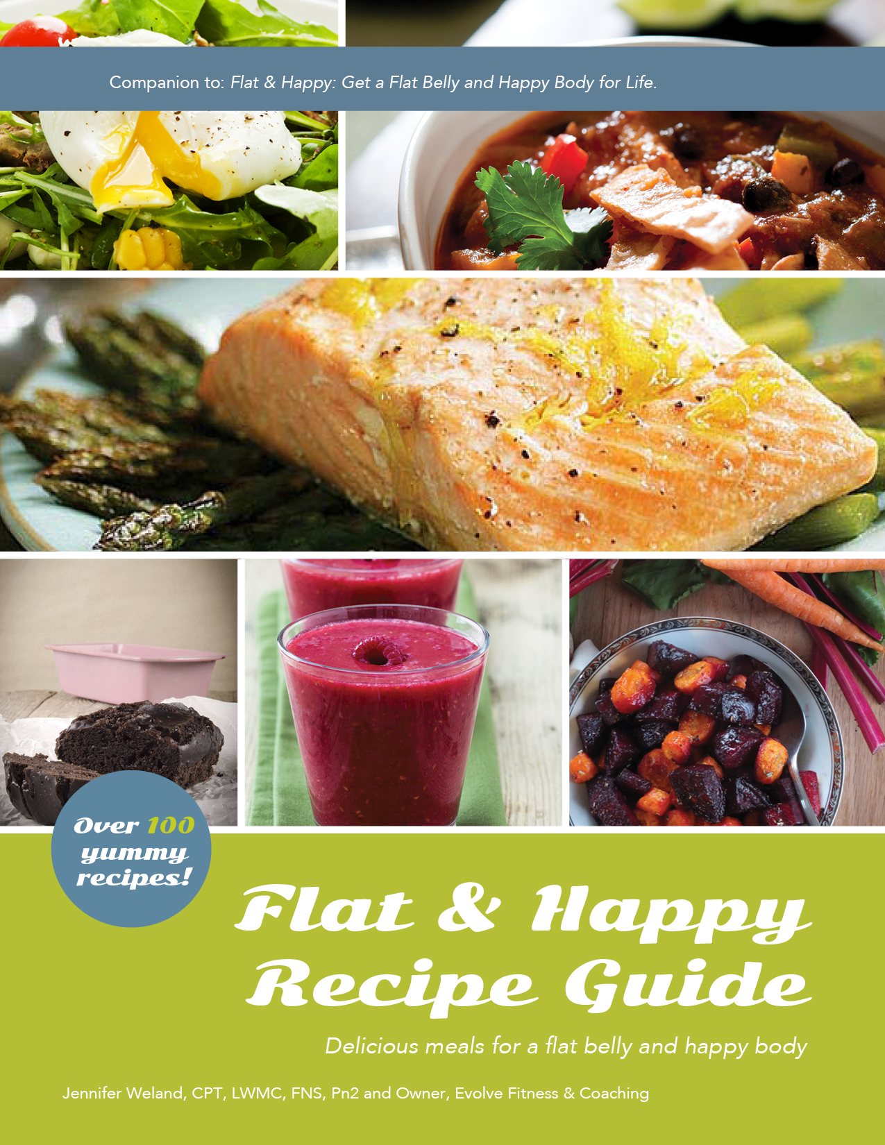 Flat & Happy Recipe Guide (digital version)