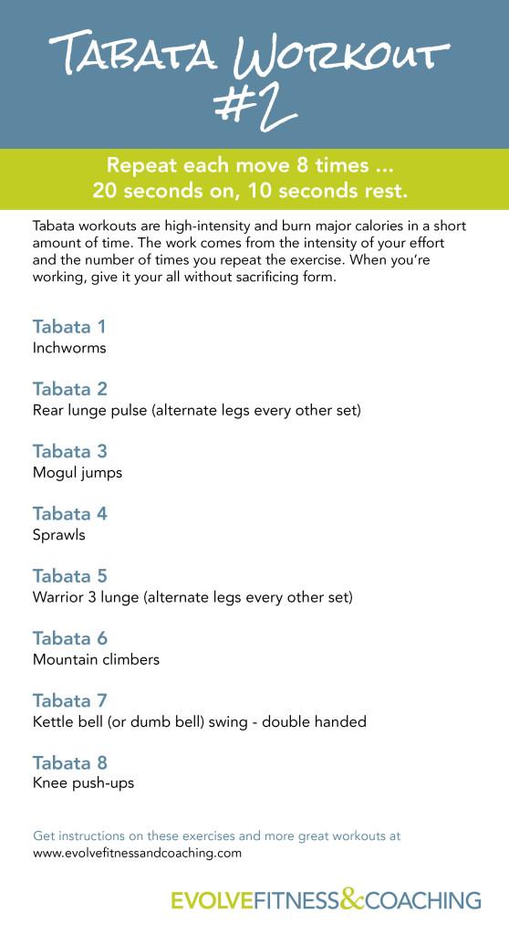 Tabata Workout 2
