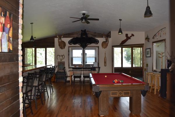 Living room at FishInn