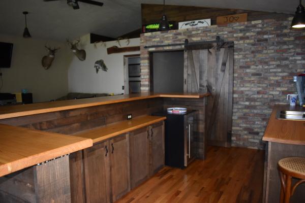 Bar area at FishInn