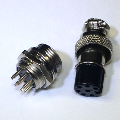 GX16-8 Connector Plug connector. 3D Printer parts and replacements