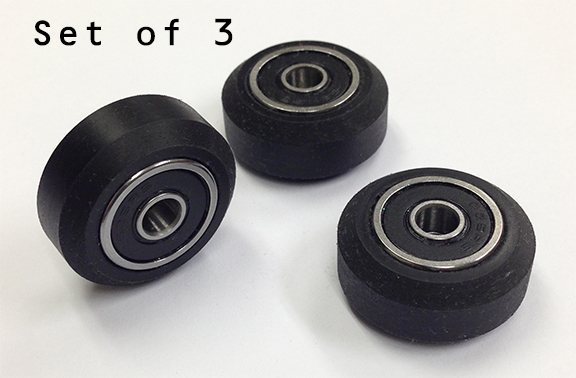 Wheels Sealed Bearings 3D Printer