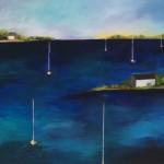 """Boat Mast #7 - 22""""x30"""""""