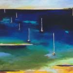 """Boat Mast #9 - 16""""x20"""""""
