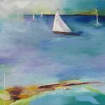 """Sail Mast #2 18""""x24"""""""