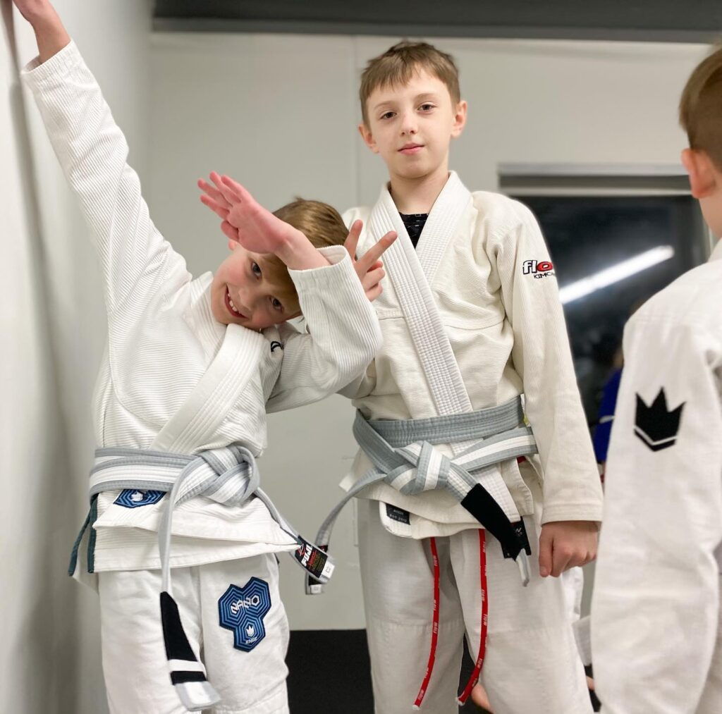 Yes, and no. Technically, there are no black belts in the kids belt system, so no, as a child they can not get a black belt, but we do hope that they will continue their training, and one day get their black belt. There are only 5 belts in BJJ: white, blue, purple, brown, and black. ... Children cannot graduate from the kid's belt system into adult belts until they are 15. Assuming they have attained the highest children's rank (green/black belt), they receive a blue belt on their 16th birthday or thereabouts.