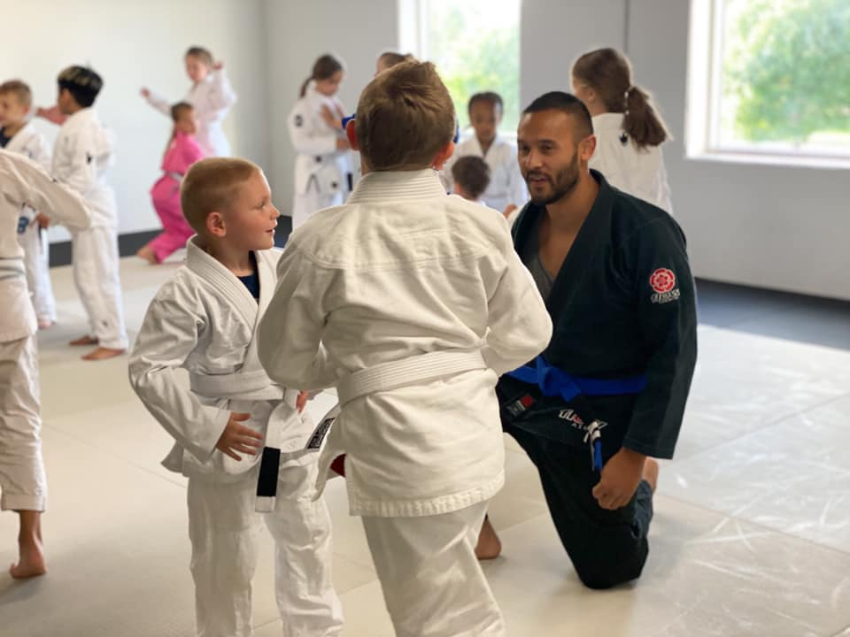 2 young boys doing martial arts in blaine mn