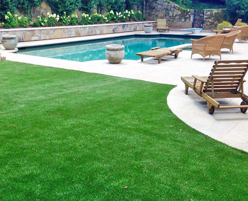 Synthetic Putting Green Installation