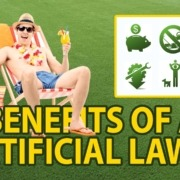 Benefits of an Artificial Lawn Logo