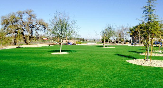 artificial grass lawn installation